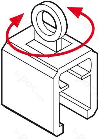 Раздвижен крепеж с пръстен за рамки А2 и А1