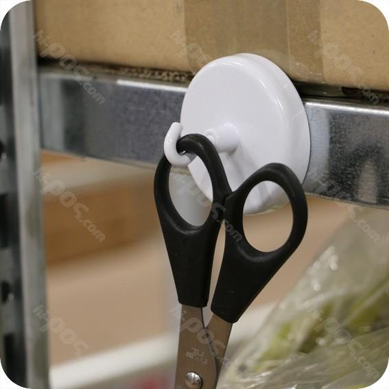 Феритен магнит с диаметър 25 mm и отворена кука - до 3,5 кг.