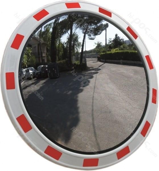 Пътно огледало със светлоотразителни ленти
