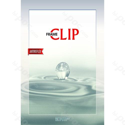 Рекламна рамка клип с антирефлексно стъкло