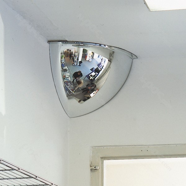 Ъглово охранително огледало за наблюдение 90