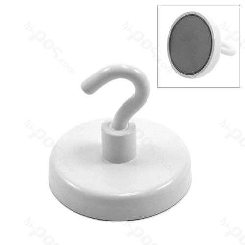 Феритен магнит с диаметър 50 mm и отворена кука - до 20 кг.