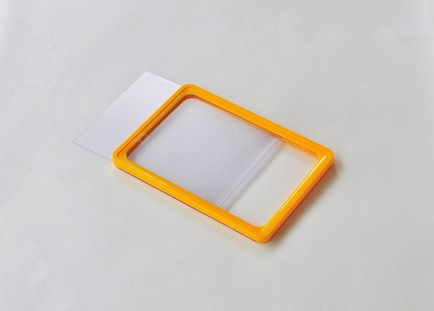 ПАКЕТ 10 бр. Оранжева рамка PVC А5