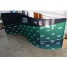 Текстилна стена Wave -610x230