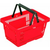 Кошница за пазаруване с две дръжки - 28 литра
