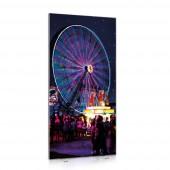 Двустранна LED текстилна стена Еasy -100x200cm