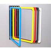 Подсилен Стенен инфолайн с едноцветни рамки А4