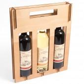 Разглобяема опаковка дисплей за вино