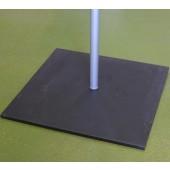 метална основа за преносим флаг