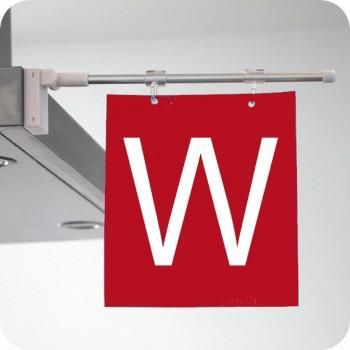 Право магнитно рамо за плакат с дължина 400 мм